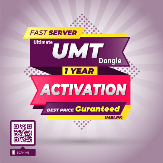 UMT Dongle / Box Activation 1 Year Renewal Activation